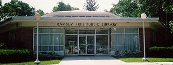 Ramsey Public Library building front